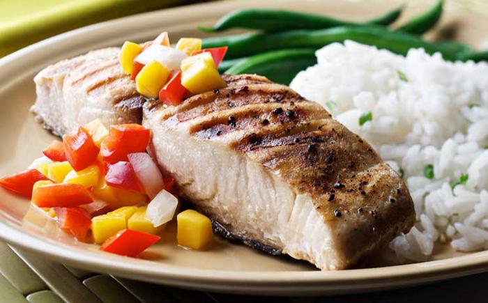 Сервировка рыбы